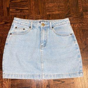 Jean skirt NWOT